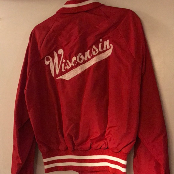 Jackets & Blazers - 🥂1 HOUR SALE🥂Vintage Wisconsin Bomber Jacket